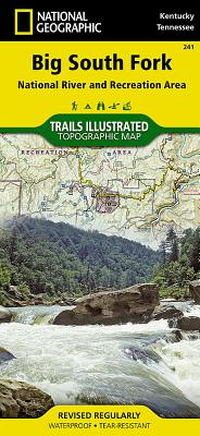Big South Fork National River and Recreation Area (National Geographic Trails Illustrated Map #241) Cover Image