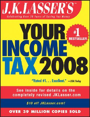 J.K. Lasser's Your Tax 2008 Cover Image
