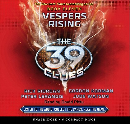 Vespers Rising (The 39 Clues, Book 11) (Audio Library Edition) Cover Image
