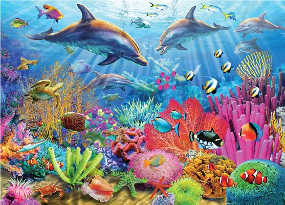 Puzzle Coral Reef Cover Image