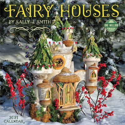 Fairy Houses 2021 Wall Calendar Cover Image