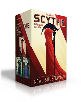 The Arc of a Scythe Paperback Trilogy: Scythe; Thunderhead; The Toll cover