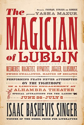 Magician of Lublin Cover Image
