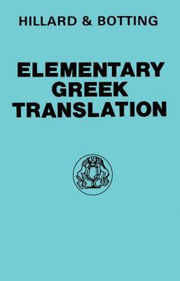 Elementary Greek Translation (Greek Language) Cover Image