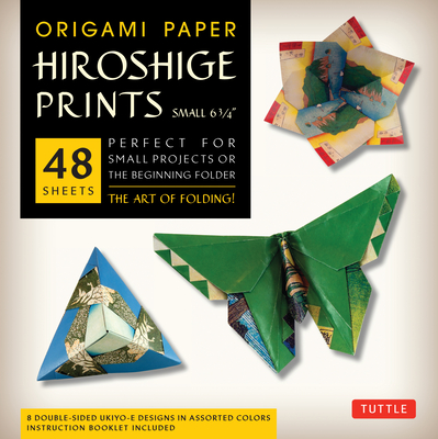 Origami Paper - Hiroshige Prints - Small 6 3/4