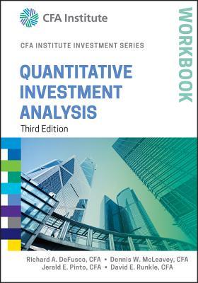 Quantitative Investment Analysis Workbook (Cfa Institute Investment) Cover Image