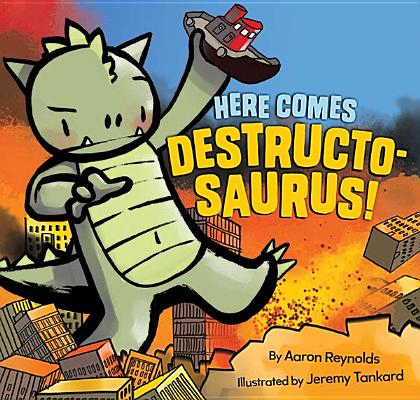 Here Comes Destructosaurus! Cover