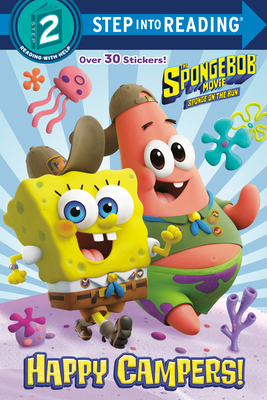 Happy Campers! (SpongeBob SquarePants) (Step into Reading) Cover Image