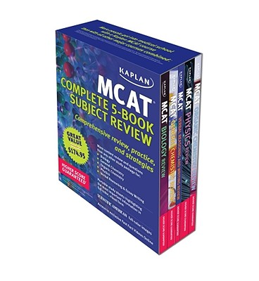 Kaplan MCAT Review: Complete 5-Book Series Cover Image