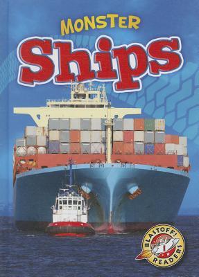 Monster Ships (Monster Machines) Cover Image
