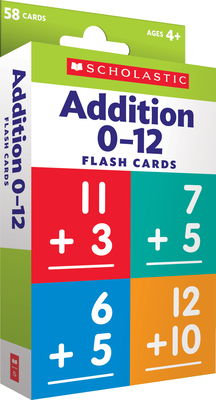 Flash Cards: Addition 0 - 12 Cover Image