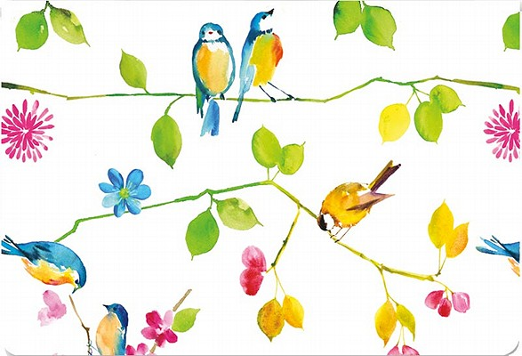 Watercolor Birds Note Cards [With 15 Envelopes] Cover Image