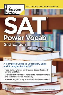 SAT Power Vocabulary, 2nd Edition cover image
