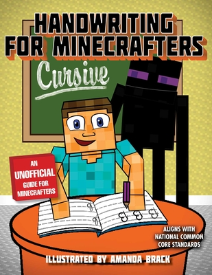 Handwriting for Minecrafters: Cursive Cover Image