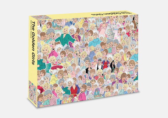 The Golden Girls: 500 Piece Jigsaw Puzzle Cover Image