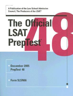 The Official LSAT Preptest: Number 48 Cover Image