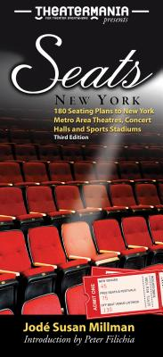 Seats: New York: 180 Seating Plans to New York Metro Area Theatres, Concert Halls & Sports Stadiums (Seats New York: 180 Seating Plans to New York Metro Area) Cover Image