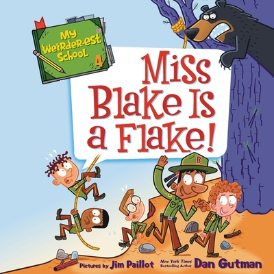My Weirder-est School: Miss Blake Is a Flake! Cover Image