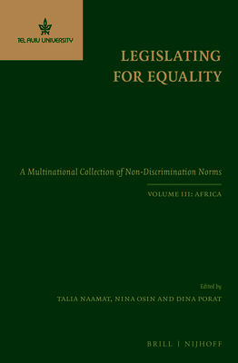 Legislating for Equality: A Multinational Collection of Non-Discrimination Norms. Volume III: Africa Cover Image