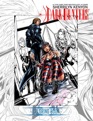 Dark-Hunter Ultimate Coloring Book Cover Image