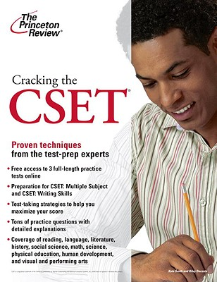 Cracking the Cset Cover