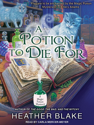 A Potion to Die for (Magic Potion Mystery #1) Cover Image