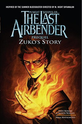 The Last Airbender Prequel Cover