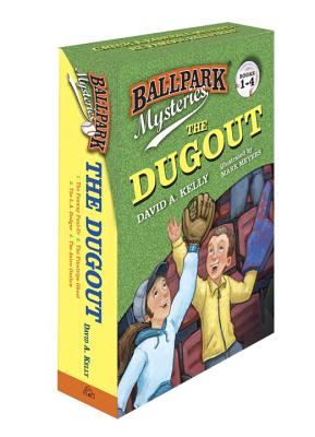 Ballpark Mysteries: The Dugout boxed set (books 1-4) Cover Image