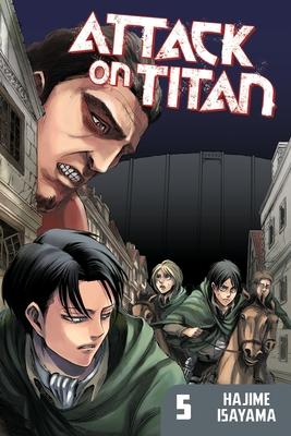 Attack on Titan, Volume 5 Cover