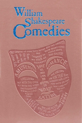 William Shakespeare Comedies (Word Cloud Classics) Cover Image