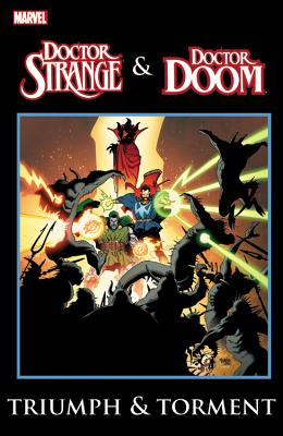 Dr. Strange & Dr. Doom Cover