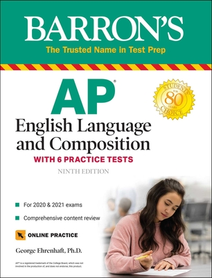 AP English Language and Composition: With 6 Practice Tests (Barron's Test Prep) Cover Image