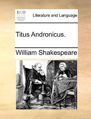 Titus Andronicus. Cover Image