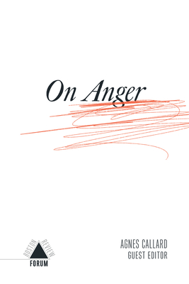 On Anger (Boston Review / Forum) Cover Image