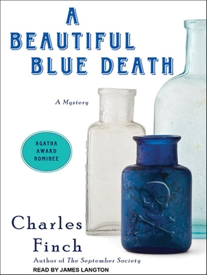 A Beautiful Blue Death (Charles Lenox Mysteries #1) Cover Image