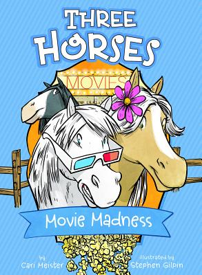 Movie Madness: A 4D Book (Three Horses) Cover Image