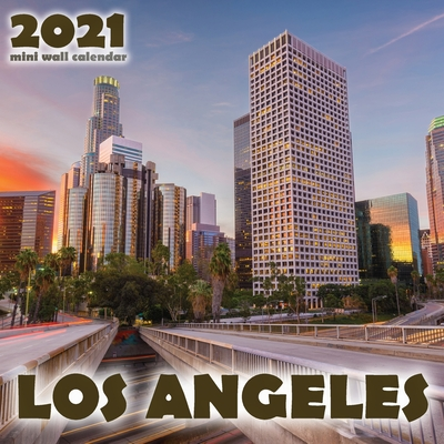 Los Angeles 2021 Mini Wall Calendar Cover Image