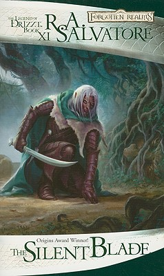 Cover for The Silent Blade (The Legend of Drizzt #11)