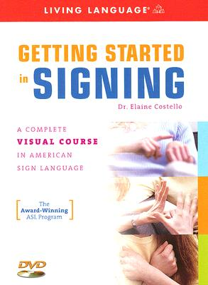 Getting Started in Signing Cover