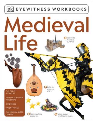 Eyewitness Workbooks Medieval Life Cover Image