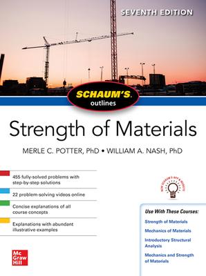 Schaum's Outline of Strength of Materials, Seventh Edition Cover Image