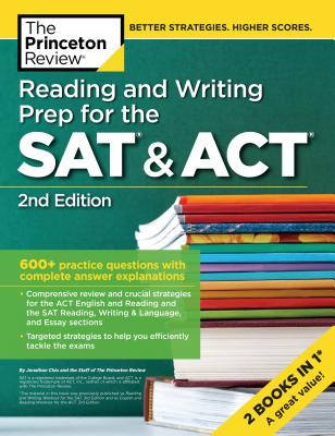 Reading and Writing Prep for the SAT & ACT, 2nd Edition cover image