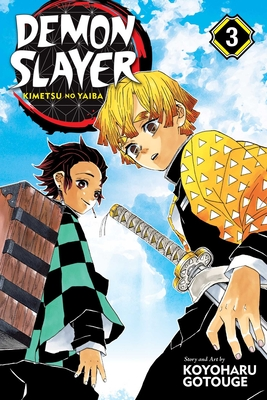 Demon Slayer: Kimetsu no Yaiba, Vol. 3 Cover Image