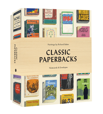 Classic Paperbacks Notecards and Envelopes Cover Image