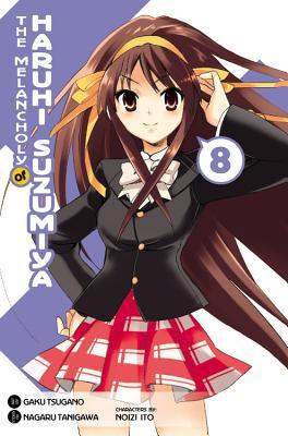 The Melancholy of Haruhi Suzumiya, Volume 8 Cover