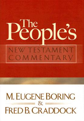 The People's New Testament Commentary Cover