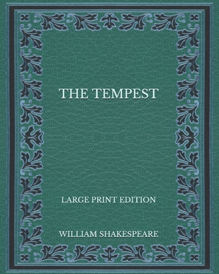The Tempest - Large Print Edition Cover Image