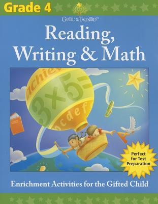 Gifted & Talented: Reading, Writing & Math, Grade 4 Cover Image