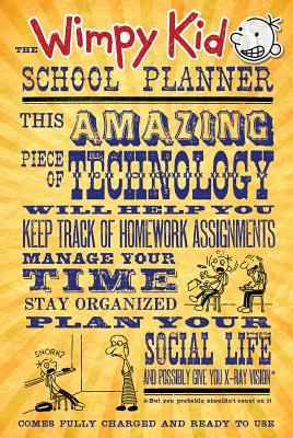 The Wimpy Kid School Planner Cover Image