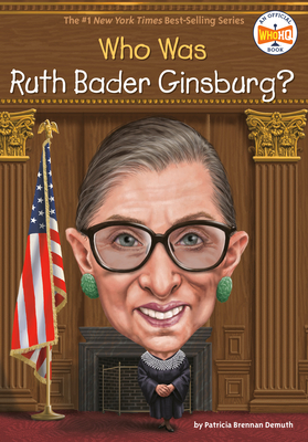 Who Was Ruth Bader Ginsburg? (Who Was?) Cover Image